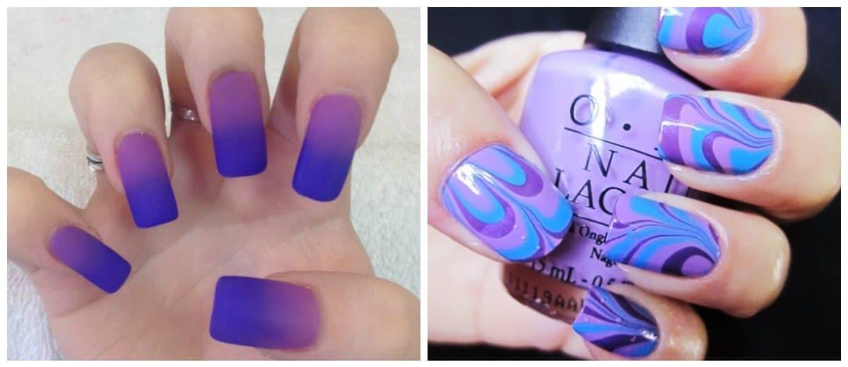 best-nail-polish-colors-2018-best-nail-art-2018-best-nail-polish-2018-Best nail polish 2018-blue-purple