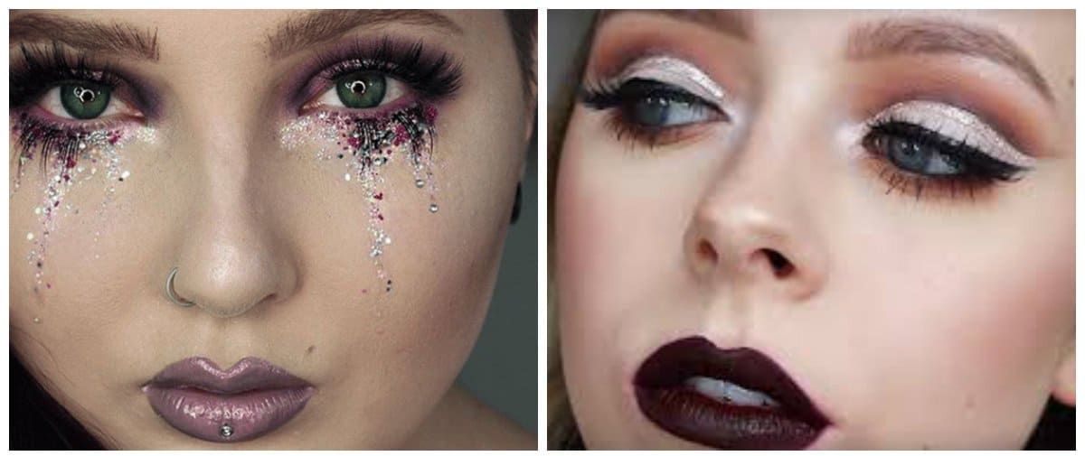 makeup-ideas-2017-fashion-makeup-makeup-trends-2017-glitter-fashion makeup