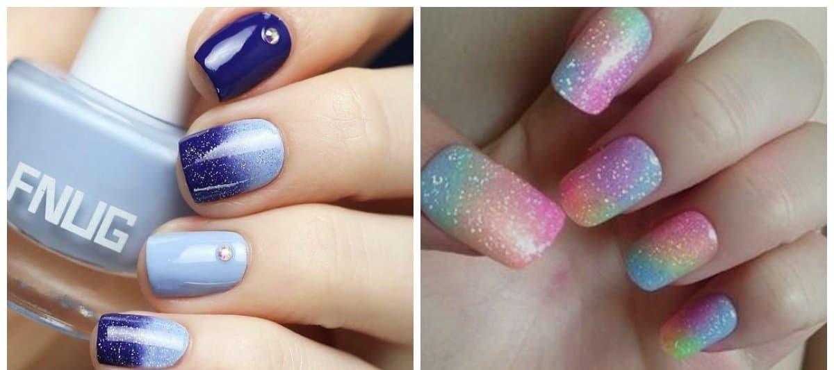 nail-art-2017-nail-art-ideas-nail-art-design-2017-gradient-nail art design 2017