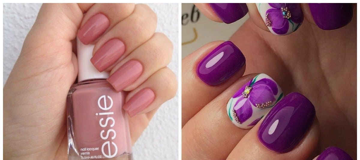 Nail colors 2017: trends for nail polish colors