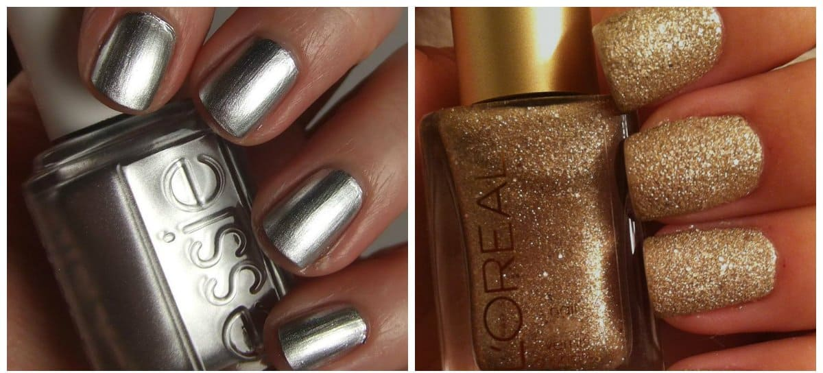 nail-color-2017-nail-polish-colors-2017-nail-color-trends-metallic-shine-nail colors 2017- nail color trends