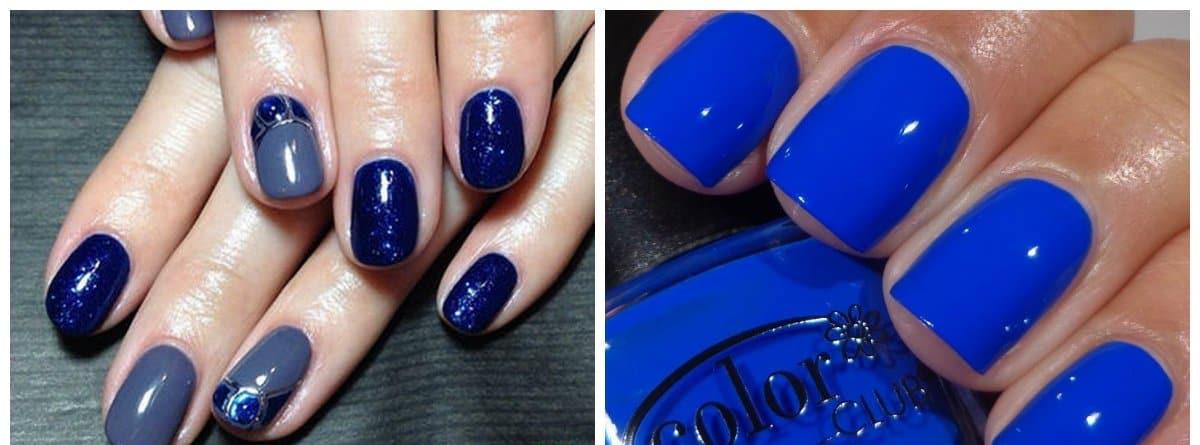 nail-color-trends-nail-paint-shades-popular-nail-colors-blue-shades-Popular nail colors2018-nail paint shades
