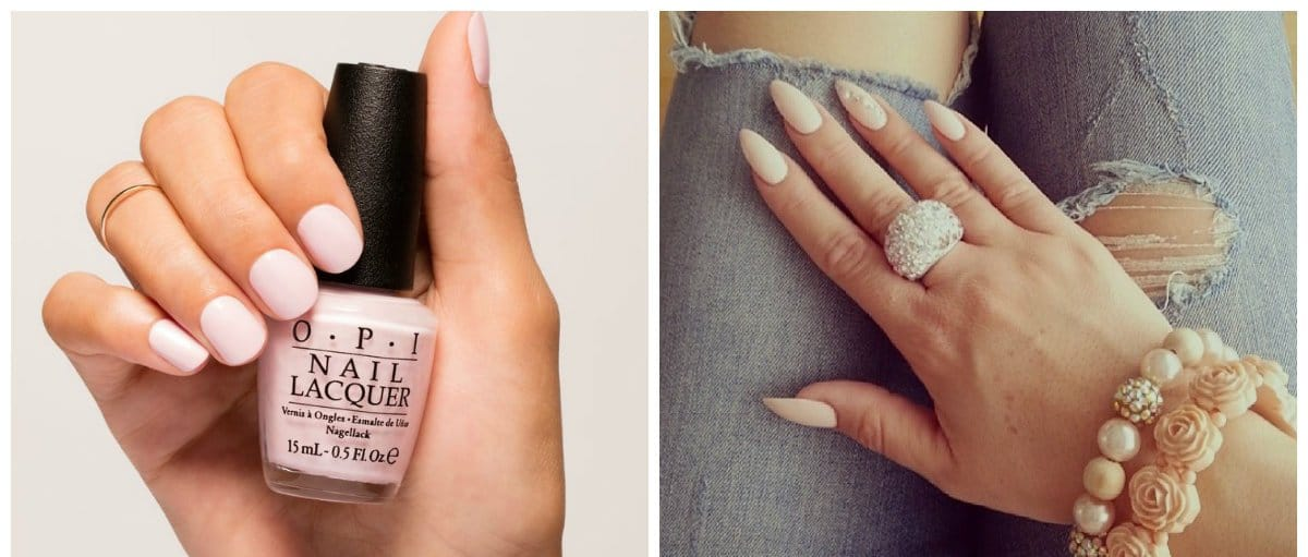 nail-color-trends-nail-paint-shades-popular-nail-colors-nude-shades-Popular nail colors 2018