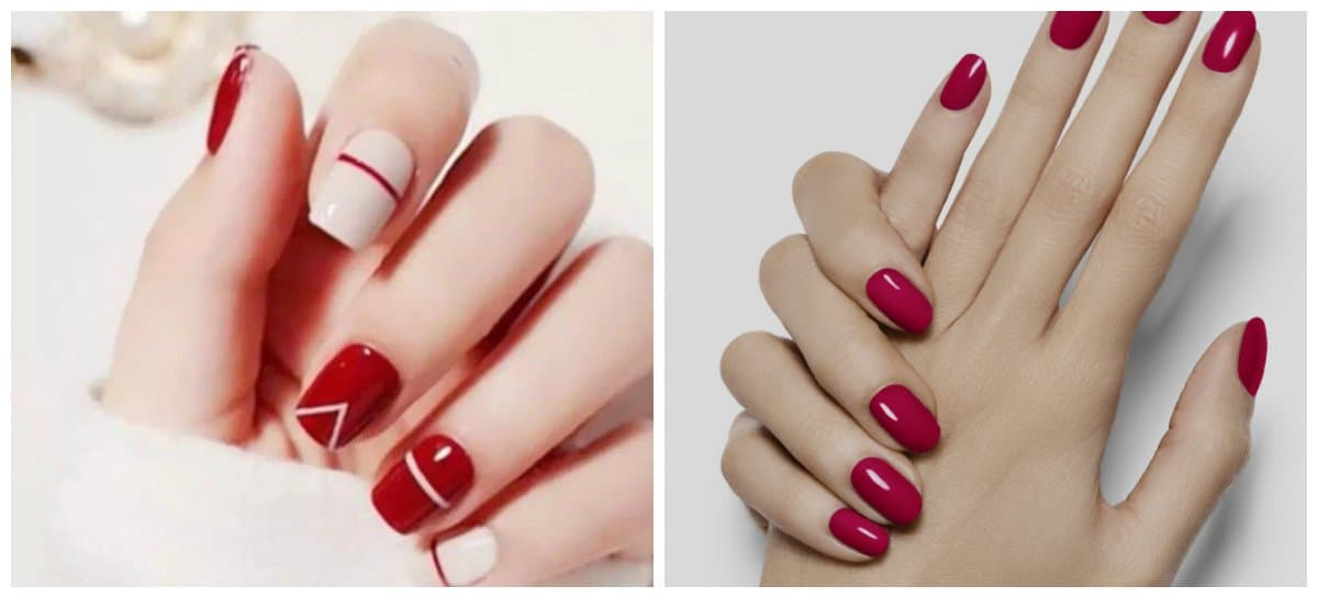 nail-color-trends-nail-paint-shades-popular-nail-colors-red-shades-Nail color trends 2018