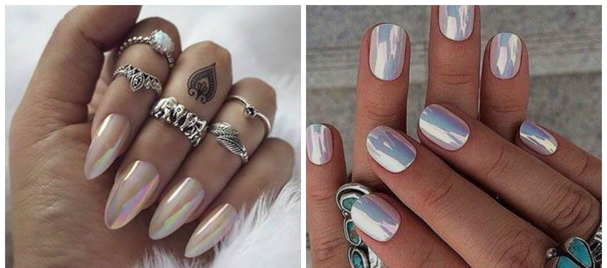 nail-designs-2017-nail-art-ideas-nail-colors-2017-foil-Nail designs 2017