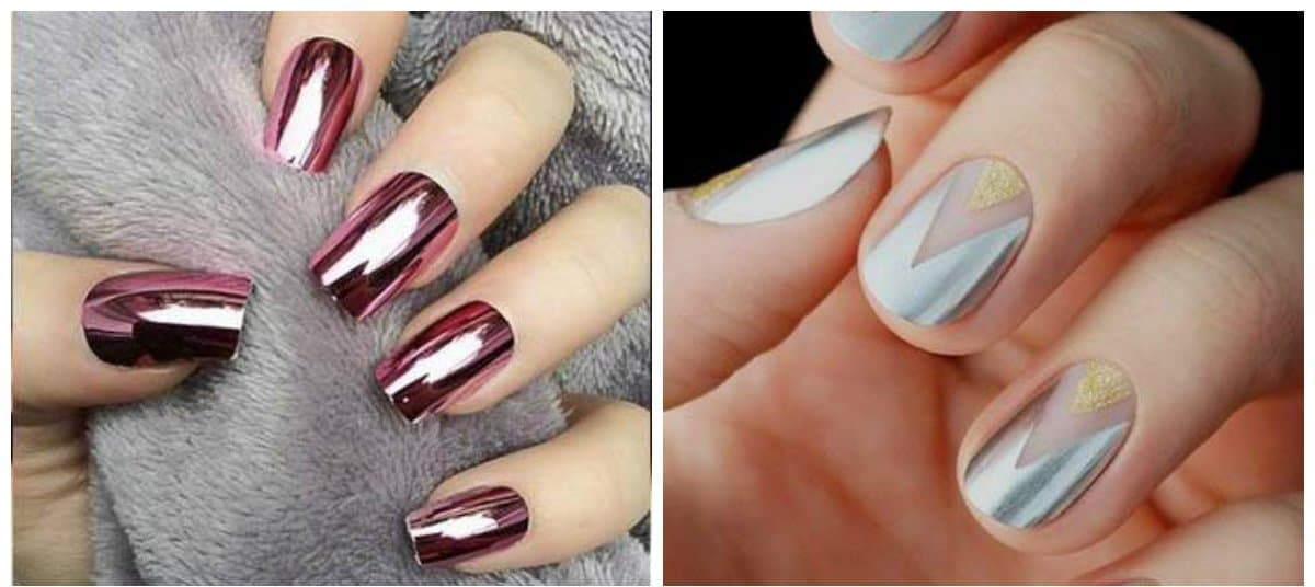 nail-designs-2017-nail-art-ideas-nail-colors-2017-metallized-Nail designs 2017
