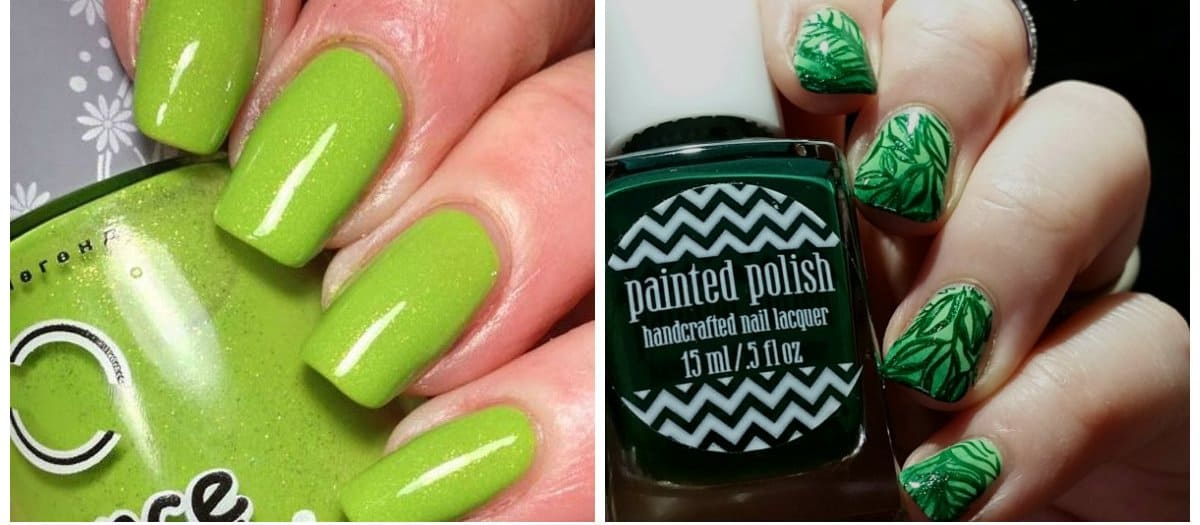 nail-polish-2017-nail-polish-trends-2017-nail-polish-colors-nail-varnish-colors-luscious-greenery-nail varnish colors