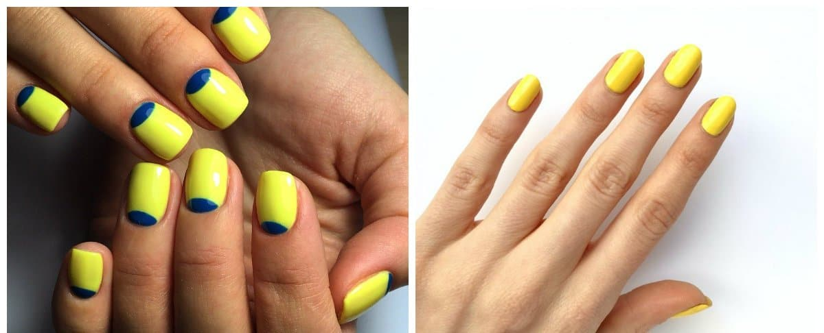 nail-polish-colors-2018-trendy-nail-polish-nail-paint-colors-yellow-nail paint colors
