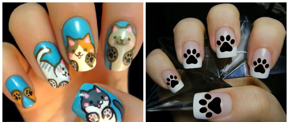 nail-trends-2018-nail-decorations-fingernail-designs-animals-fingernail designs 2018