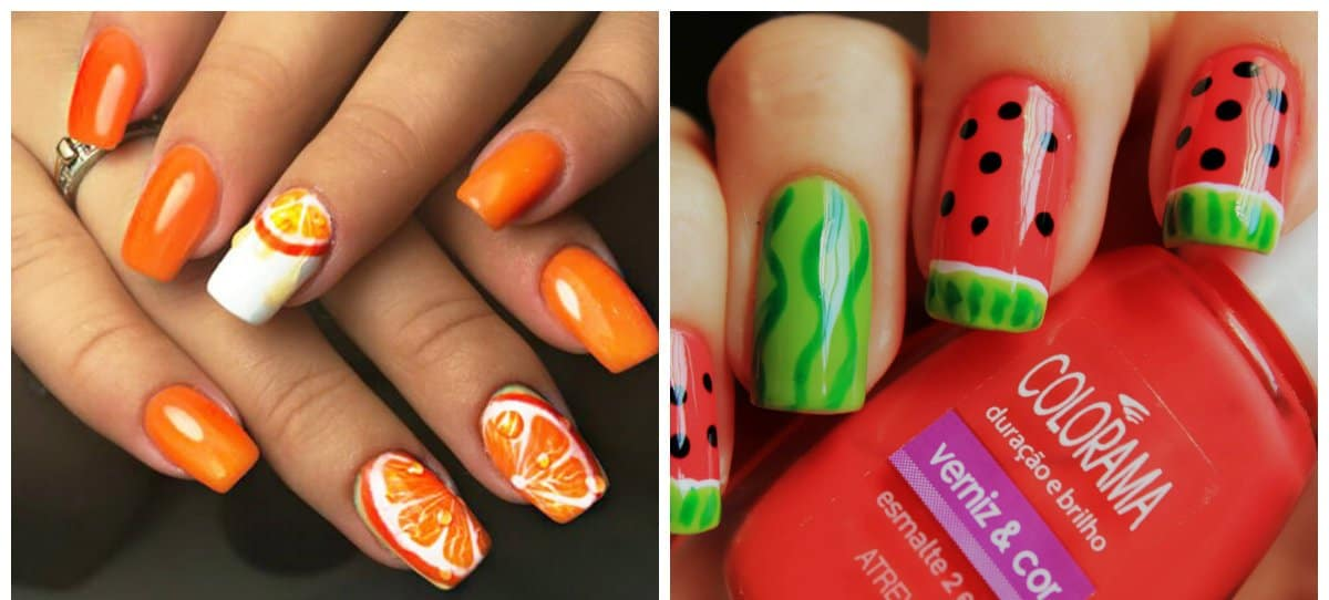nail-trends-2018-nail-decorations-fingernail-designs-2018-fruits-fingernail designs 2018