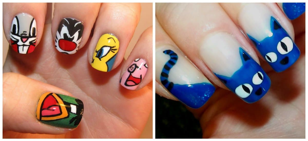 nail-trends-2018-nail-decorations-fingernail-designs-2018-funny-fingernail designs 2018