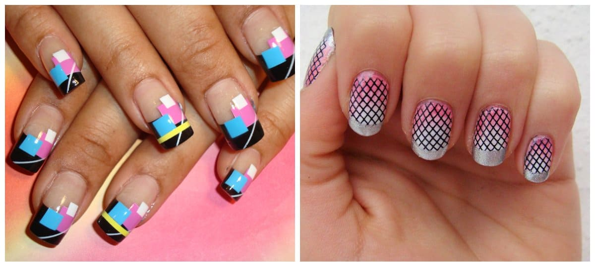 nail-trends-2018-nail-decorations-fingernail-designs-stumping-and-airbrushing-nail decorations