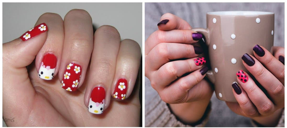 nail-trends-2018-nail-decorations-fingernail-designs-2018-Nail trends 2018