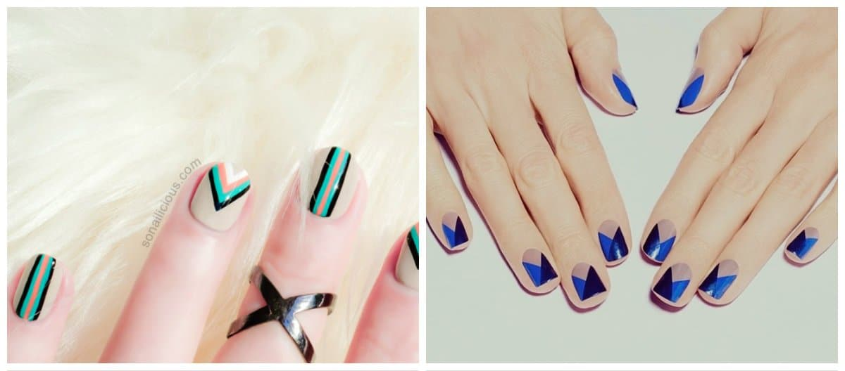 new-nail-trends-new-nail-designs-new-nail-art-geometric-new nail art