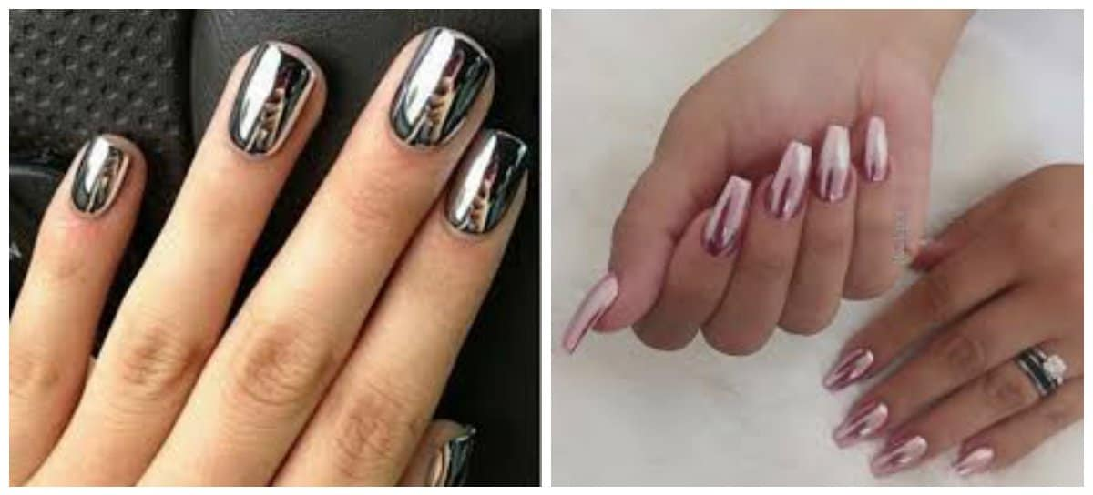 new-nail-trends-new-nail-designs-new-nail-art-metallic-new nail art