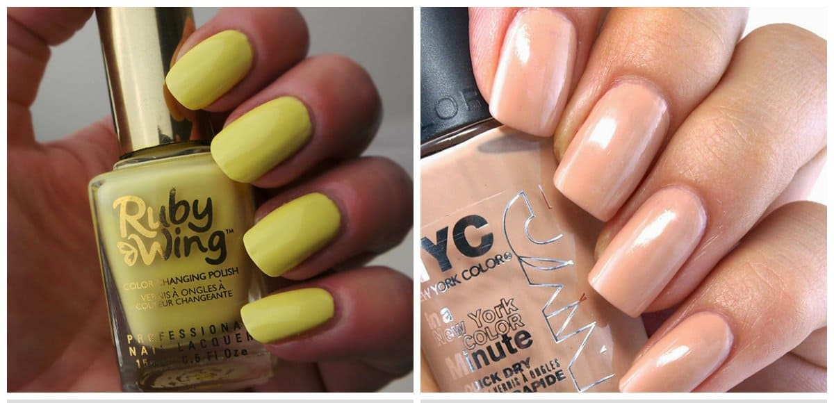 summer-nail-colors-summer-nail-polish-colors-summer-nails-Summer nail colors