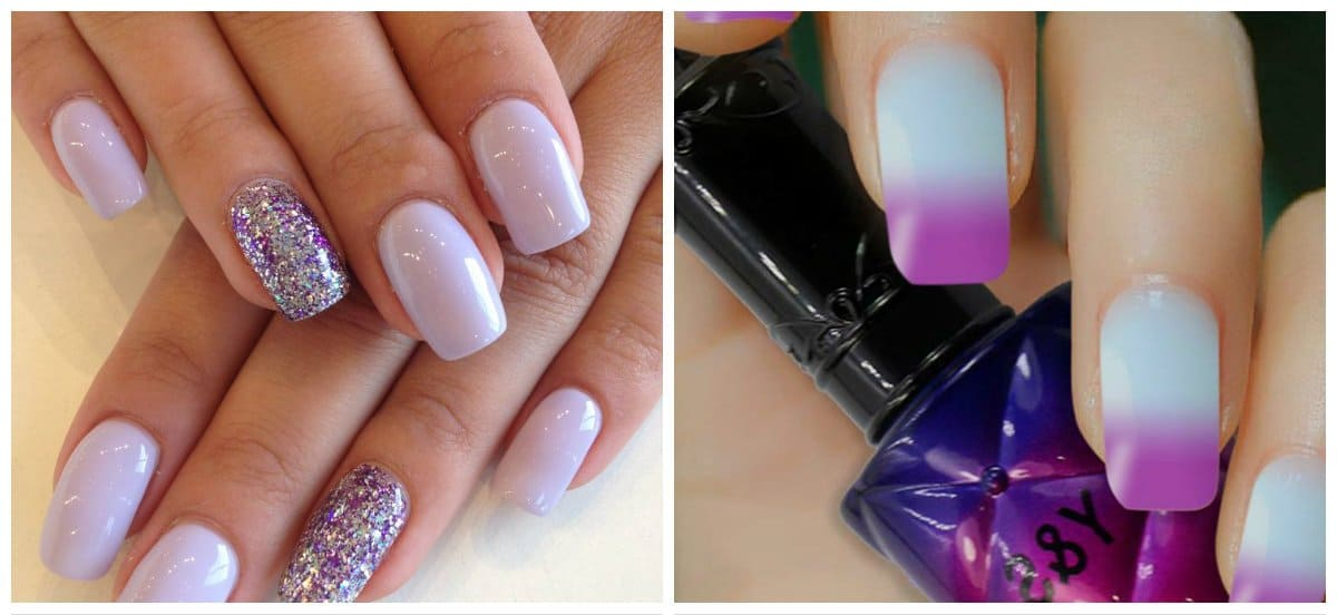 summer-nail-colors-summer-nail-polish-colors-summer-nails-lilac-summer nail polish colors