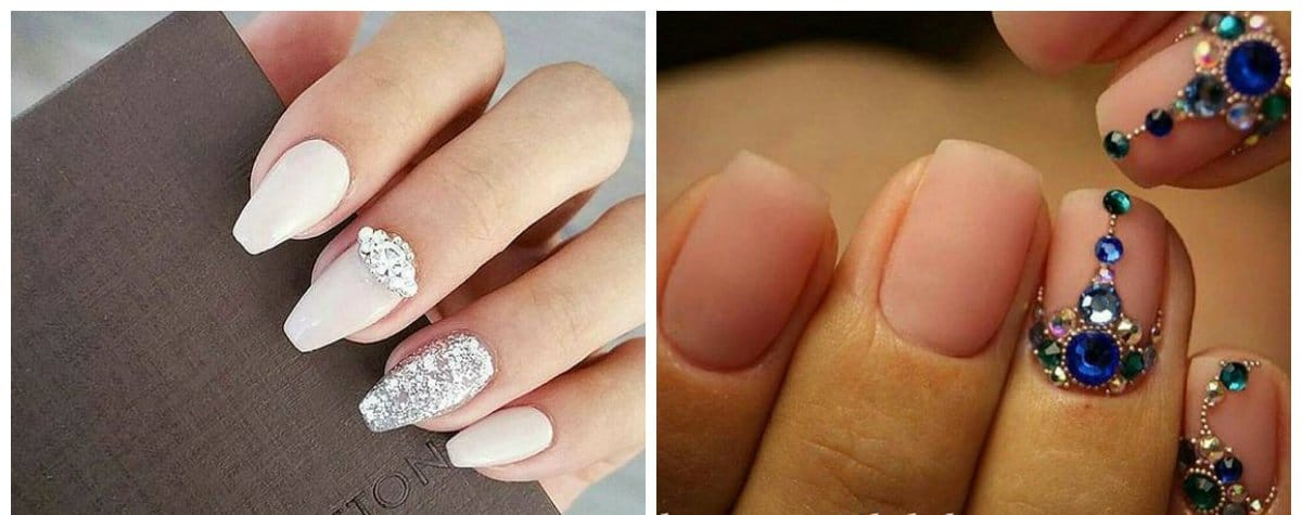 wedding-nails-2018-wedding-nail-art-nails-for-wedding-wedding nail art-nails for wedding