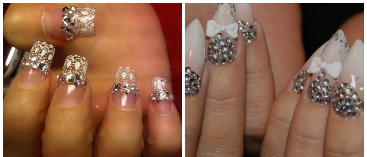 wedding-nails-2018-wedding-nail-art-nails-for-wedding-Wedding nails 2018