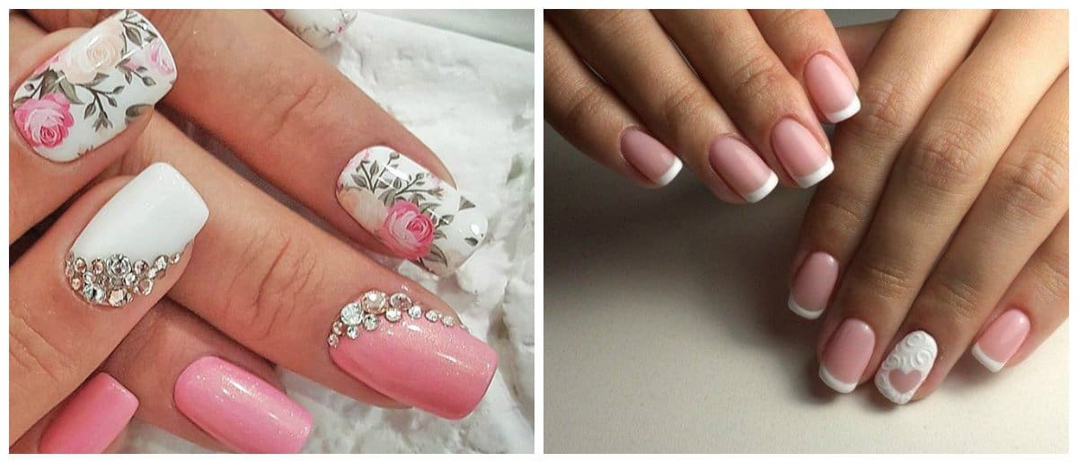 wedding-nails-2018-wedding-nail-art-nails-for-wedding-flowers-wedding nail art-nails for wedding