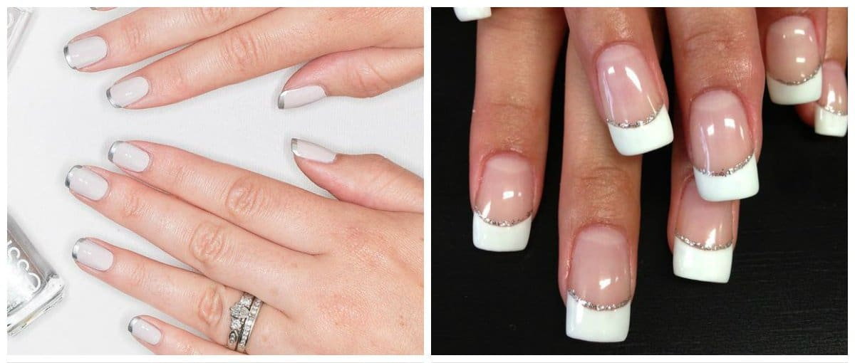 wedding-nails-2018-wedding-nail-art-nails-for-wedding-french-Wedding nails 2018