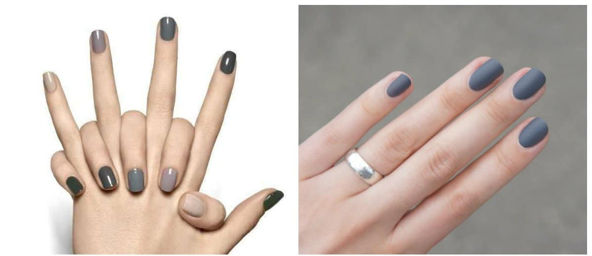 winter-nail-colors-winter-nail-polish-colors-nail-art-winter-grey-winter nail colors