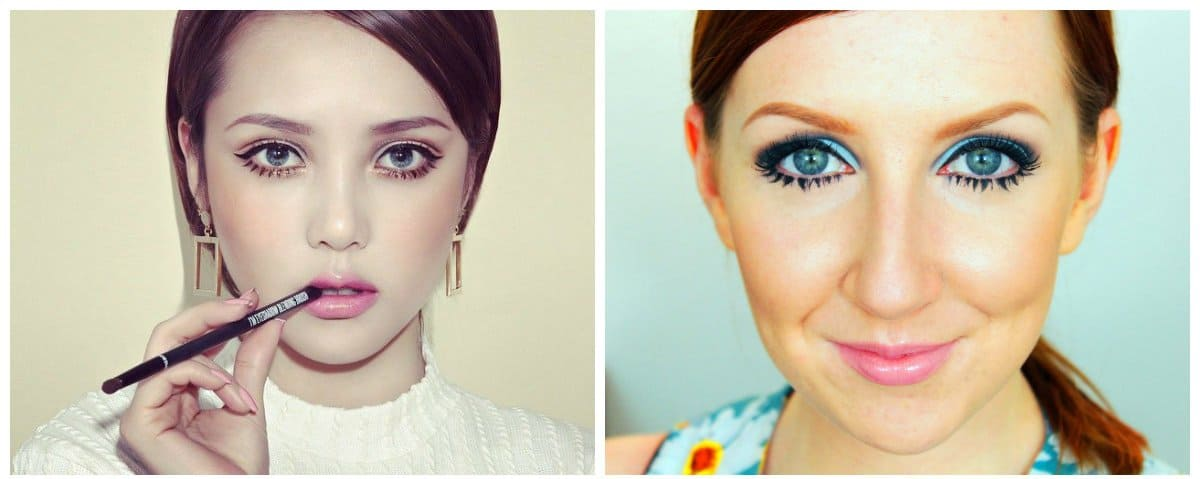 2018-makeup-trends-makeup-looks-2018-current-makeup-trends-twiggy-style-current makeup trends-makeup looks 2018