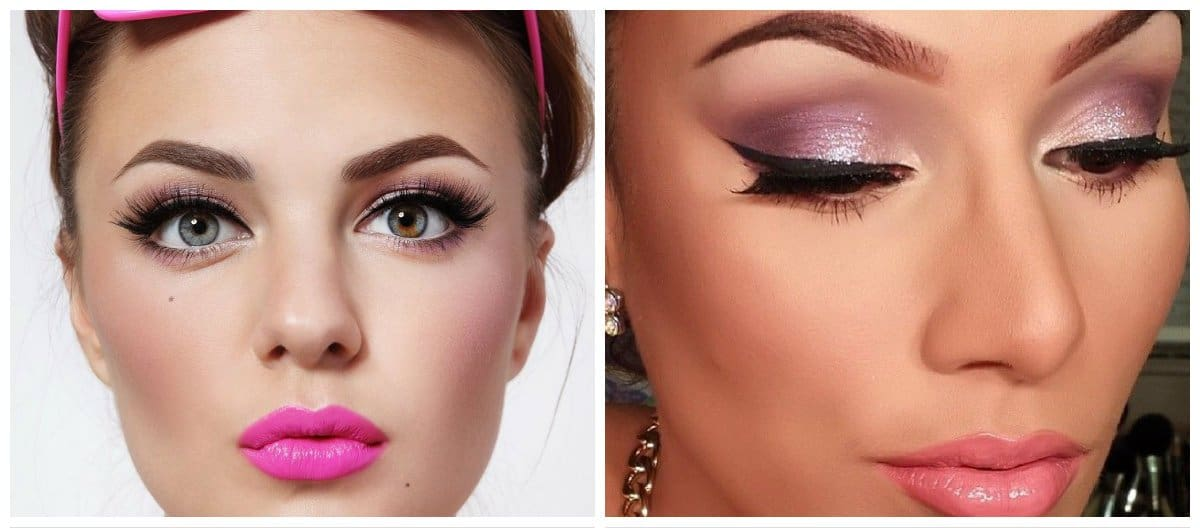 good-makeup-best-face-makeup-eye-makeup-ideas-makeup-in-pink-shades-eye makeup ideas