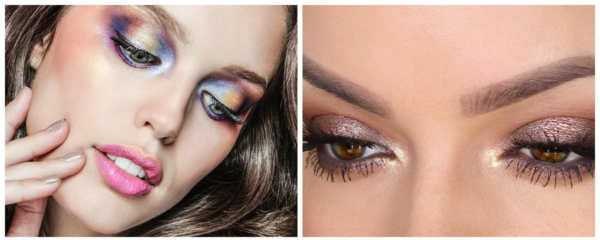 good-makeup-best-face-makeup-eye-makeup-ideas-metallic-eye-makeup-Good makeup 2018