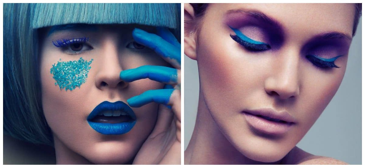 high-fashion-makeup-beautiful-makeup-current-makeup-trends-emerald-High fashion makeup
