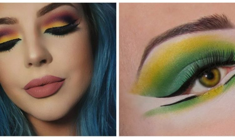 High fashion makeup: current makeup trends and tendencies