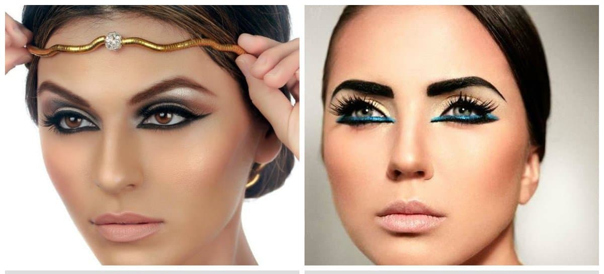 latest-makeup-trends-trending-makeup-latest-beauty-trends-cleopatra-makeup ideas 2018