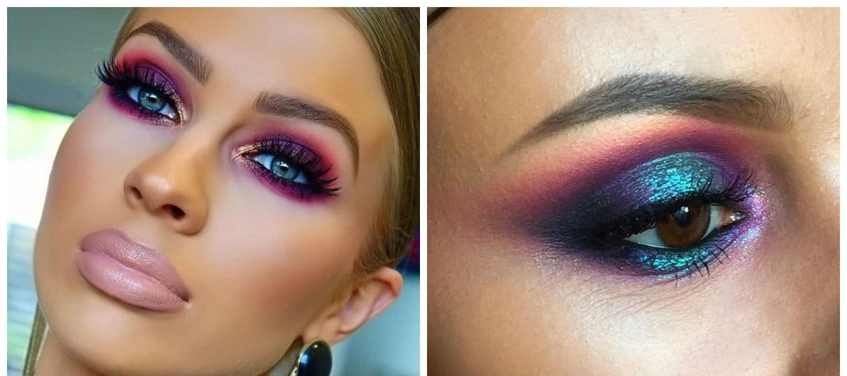 latest-makeup-trends-trending-makeup-latest-beauty-trends-metallic colors-makeup ideas 2018