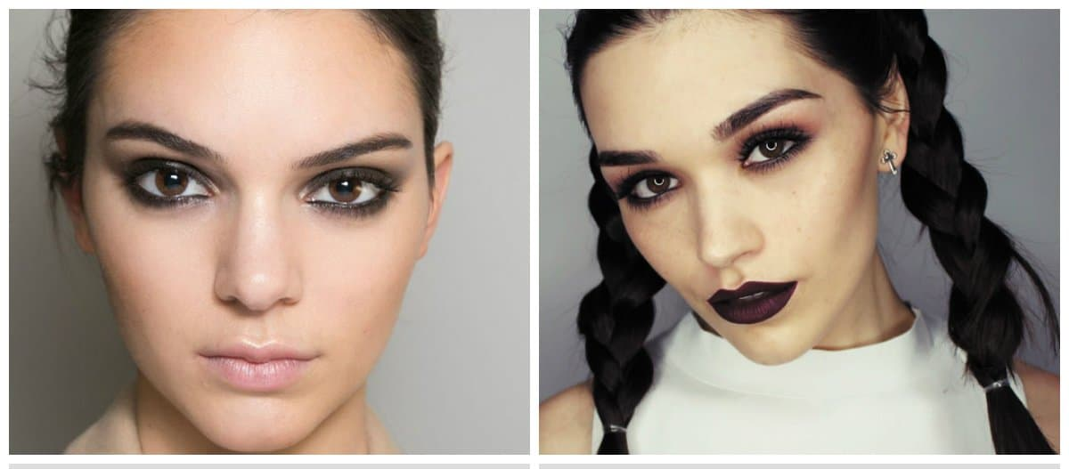 makeup-trends-2018-trendy-makeup-2018-makeup-styles-2018-smoky-trendy makeup 2018
