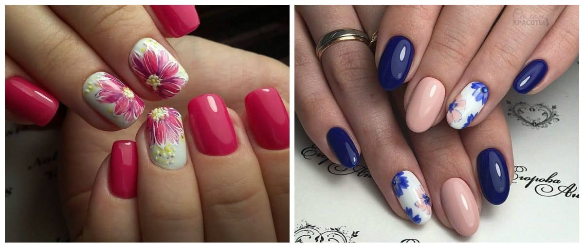nail-art-2018-nail-art-design-2018-easy-nail-art-flower-design-Nail art 2018