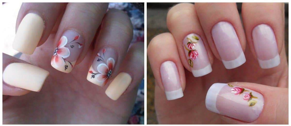 nail-art-2018-nail-art-design-2018-easy-nail-art-flowers-Nail art 2018