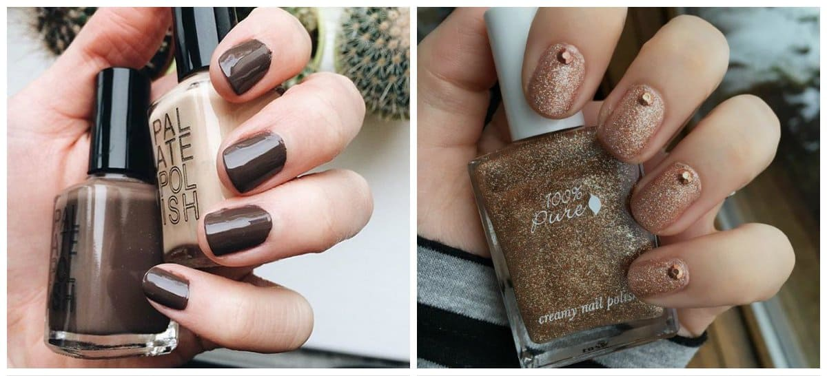 nail-colors-2018-nail-polish-colors-2018-nail-color-trends-coffee-nail color trends
