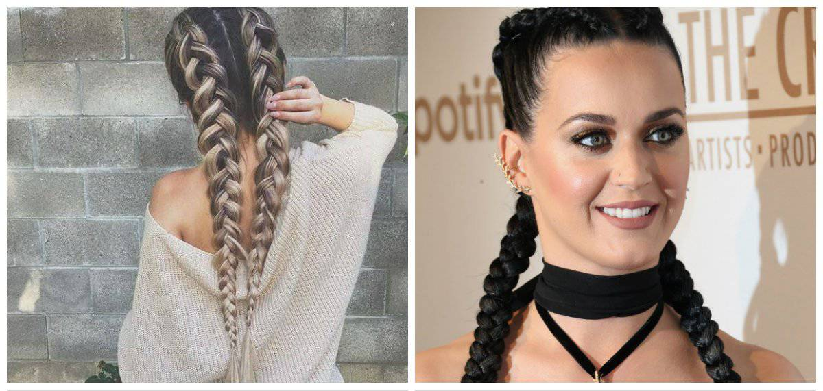 2018-hairstyles-hair-accessories-2018-trendy-hairstyles-2018-double-braids-2018 hairstyles