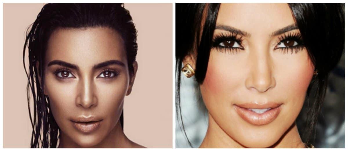 makeup-ideas-2018-face-makeup-tips-easy-makeup-ideas-kim-kardashian-makeup-Face makeup tips