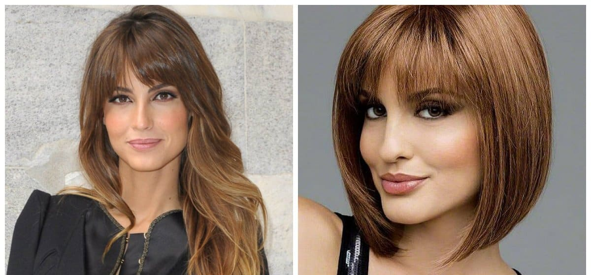haircut for women 2018, stylish haircuts with bangs