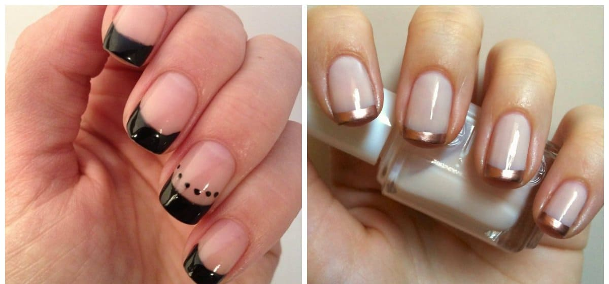 almond nails 2018, french almond shaped nails