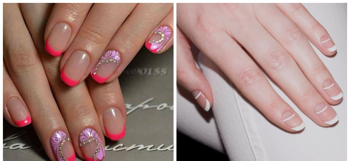 French Nails 2018 Stylish Ideas And Fashion Trends For French Nail Art