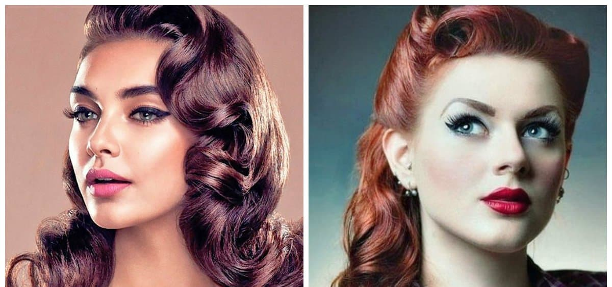 hairdos for long hair, retro hairstyles for long hair Hairstyles for long hair 2019