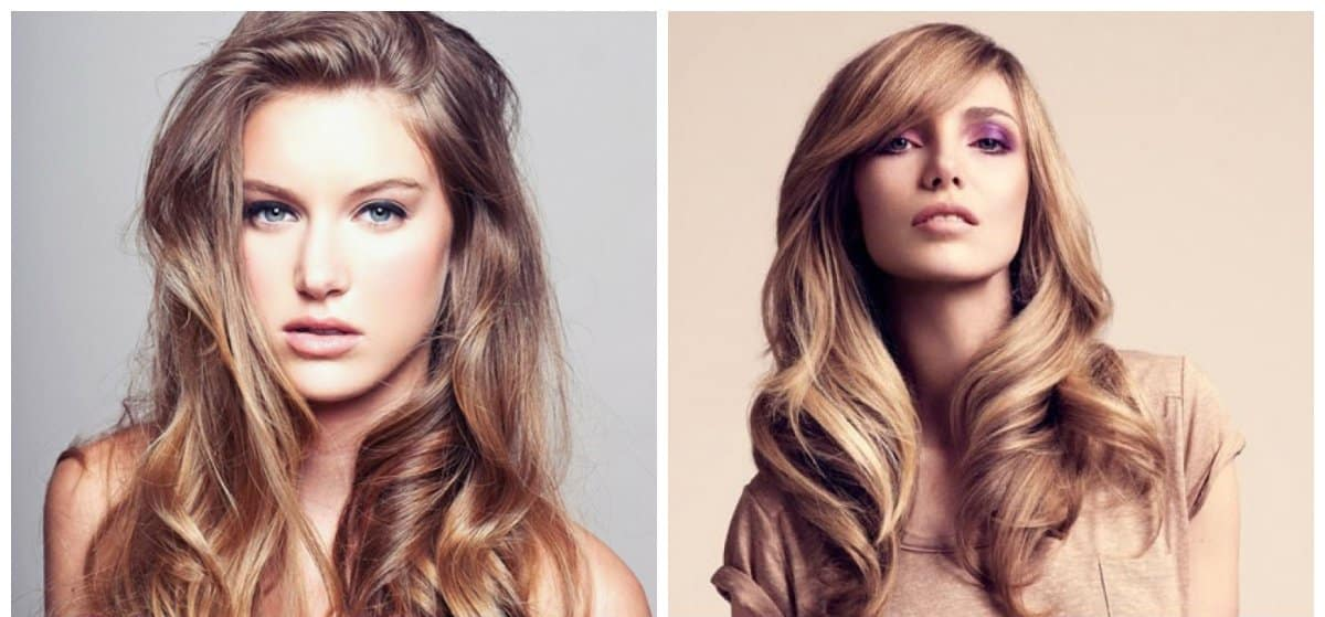 hairdos for long hair,trendy waves and curls