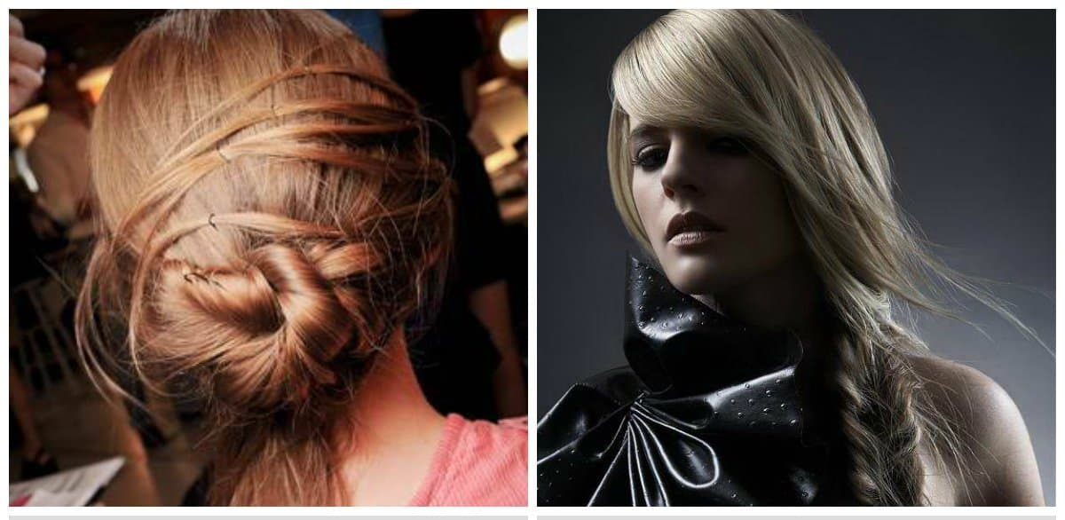 long hairstyles 2018, stylish bunches for long hair