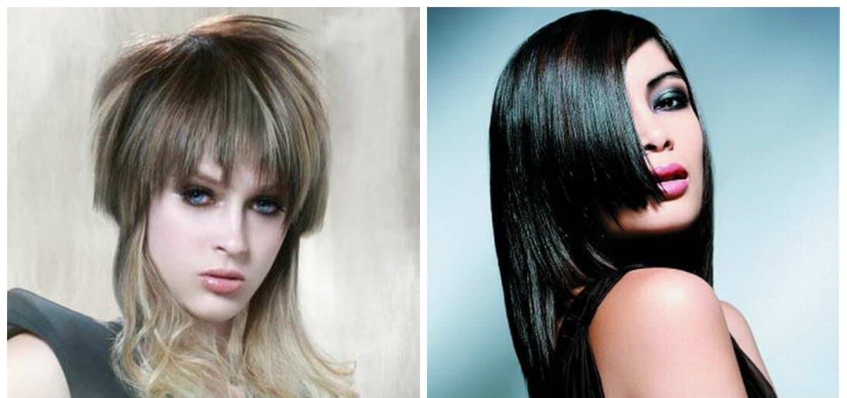 updos for long hair, graded haircuts, textured bangs