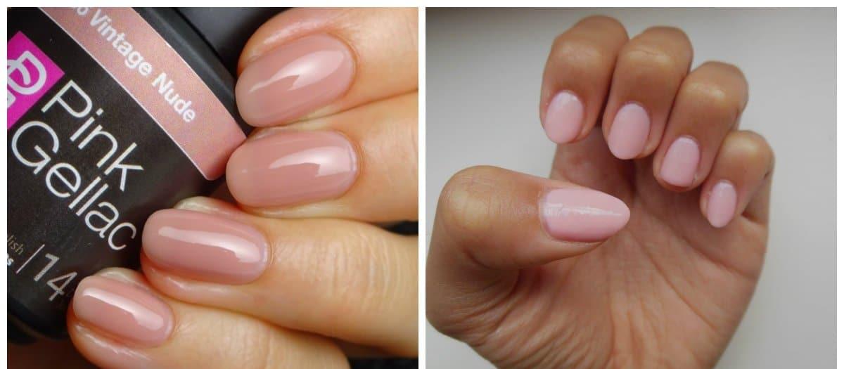 pink nails 2018, pink nude, pink marshmallow shades
