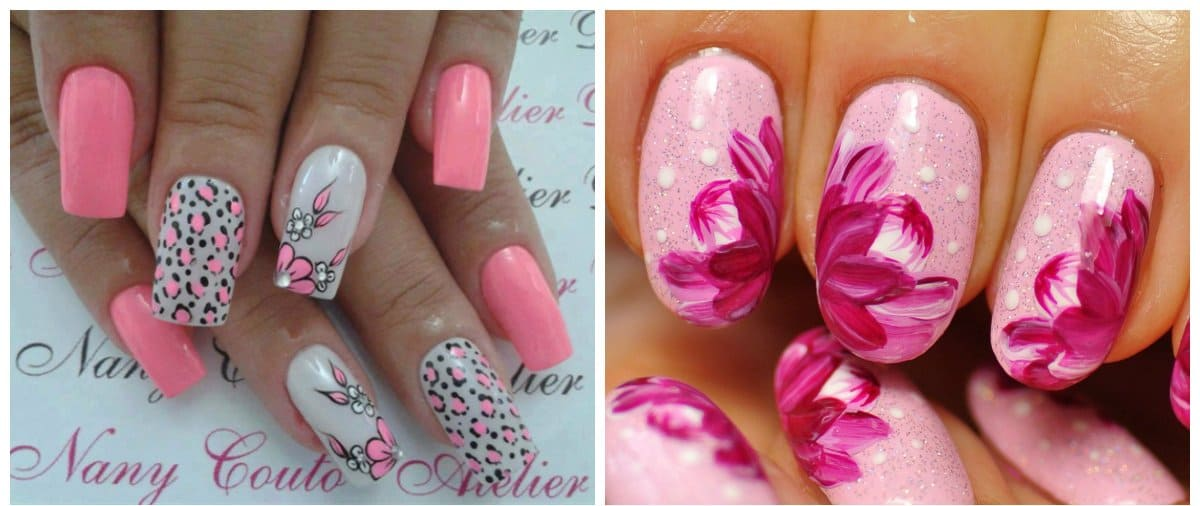 Pink nails 2018 stylish trends and tendencies for pink nail pink nails 2018 stylish trends and tendencies for pink nail polish colors prinsesfo Choice Image