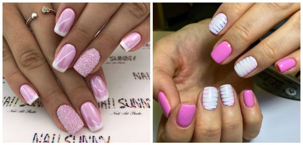 pink nails 2018, stylish shades of pink nails 2018