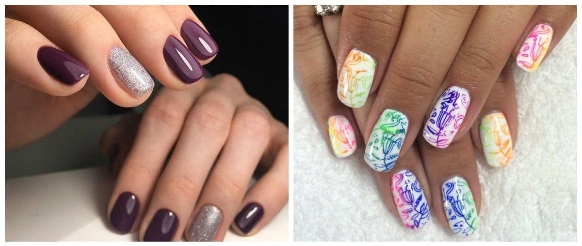 Shellac Nails 2018 Stylish Trends And Tendencies Of Nail Designs